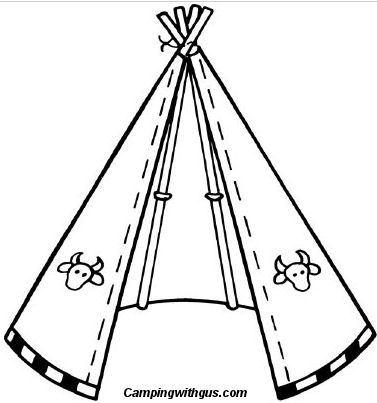 Gallery For gt Teepee Drawing